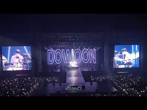 DAY6 데이식스 So Cool  + Dowoon & Young K Solo @Gravity Concert In Jakarta Day 1