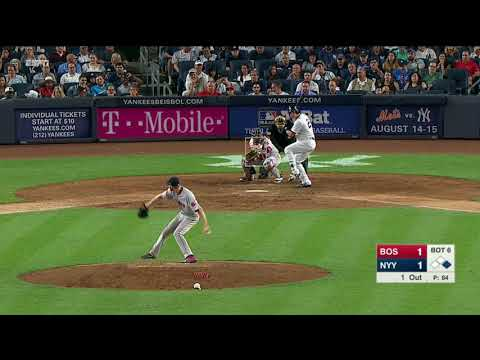 Chris Sale's 12Ks @ New York Yankees - August 13, 2017
