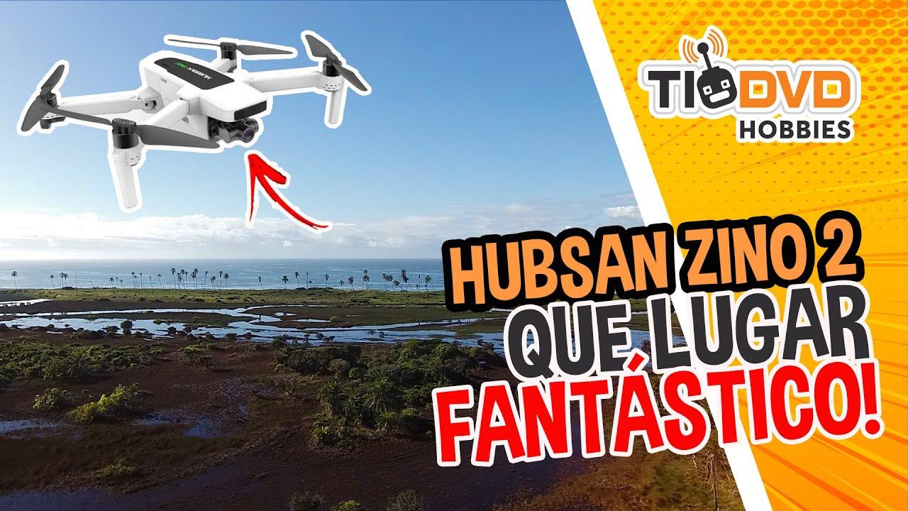 DRONE HUBSAN ZINO 2 FILMA UM LUGAR FANTÁSTICO EM AREMBEPE BAHIA LONG RANGE 4KM COM CAMERA GPS