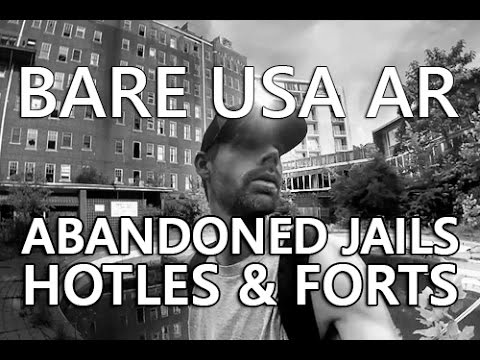 BARE USA AR |  Explore abandoned places in Arkansas like the Majestic Hotel in Hot Springs