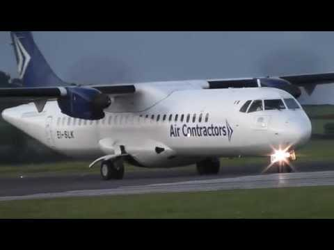 Air Contractors EI-SLK Takeoff at Cork Airport