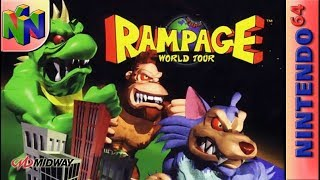 Longplay of Rampage World Tour