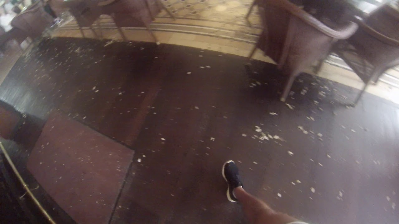 Raffles Hotel Nuts On Floor Youtube