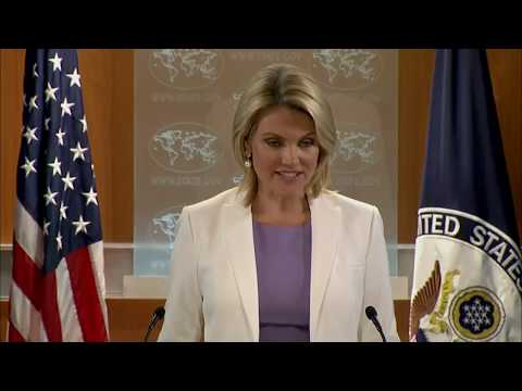 WATCH: Heather Nauert Department Press Briefing on President Donald Trump News - September 7, 2017