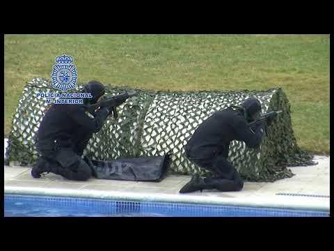 Policía Nacional especialización de GEO y GOES en Guadalajara