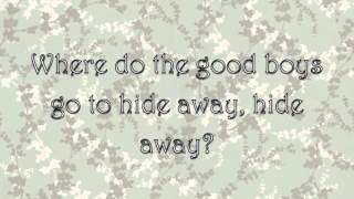 Hide Away - Daya (Lyrics)
