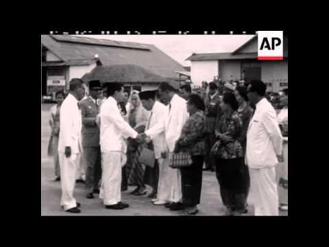 PRINCE AKIHITO VISITS DJAKARTA (JAKARTA) - NO SOUND