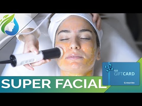 Super Facial Treatment at About Skin Facial Spa in Lake Forest