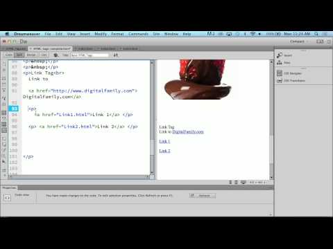 Setting A HTML Link With Janine Warner
