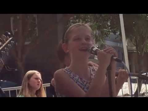 Grattan Elementary school kids band @ Cole Valley Street Fair 2016 pt 1
