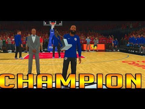 NBA 2K18-NBA MVP WORLD CHAMPIONS FINALS MVP