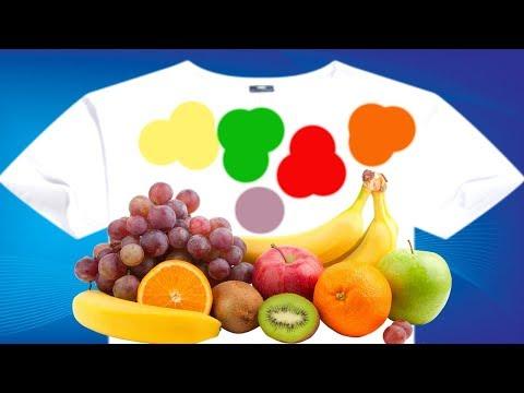 Как вывести пятно от фруктов с одежды