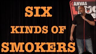 Different Kinds of Smokers | Stand up Comedy by Nishant Tanwar