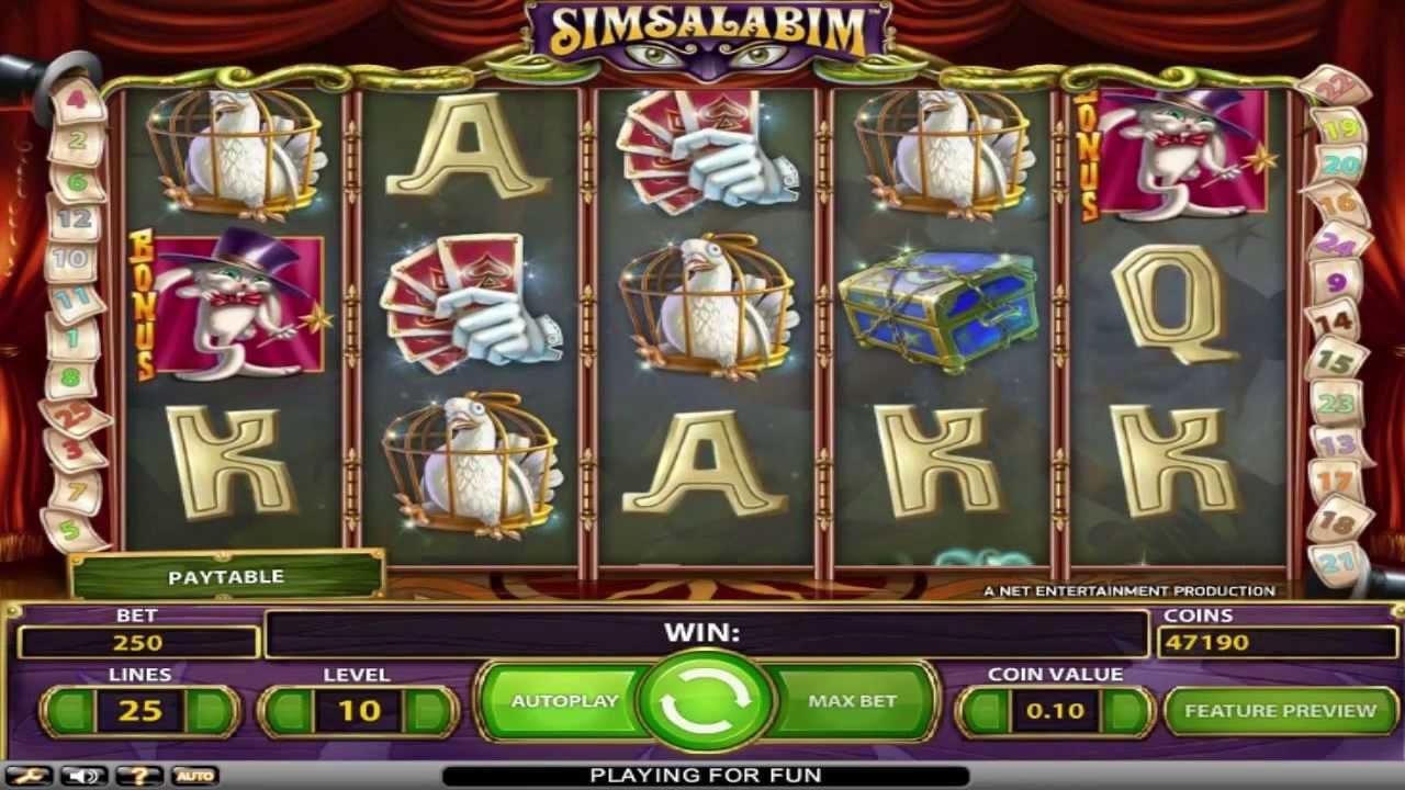 Spiele Simsalabim - Video Slots Online
