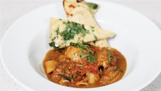 How To Make A One Pot Chicken Curry With Garlic Herb Naan Breads: Winter Warmers - S01e8/8