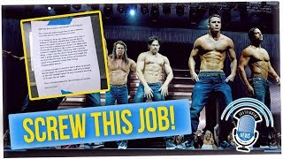 Bar Owner Quits To Become A Male Stripper! (ft. Tahir Moore)