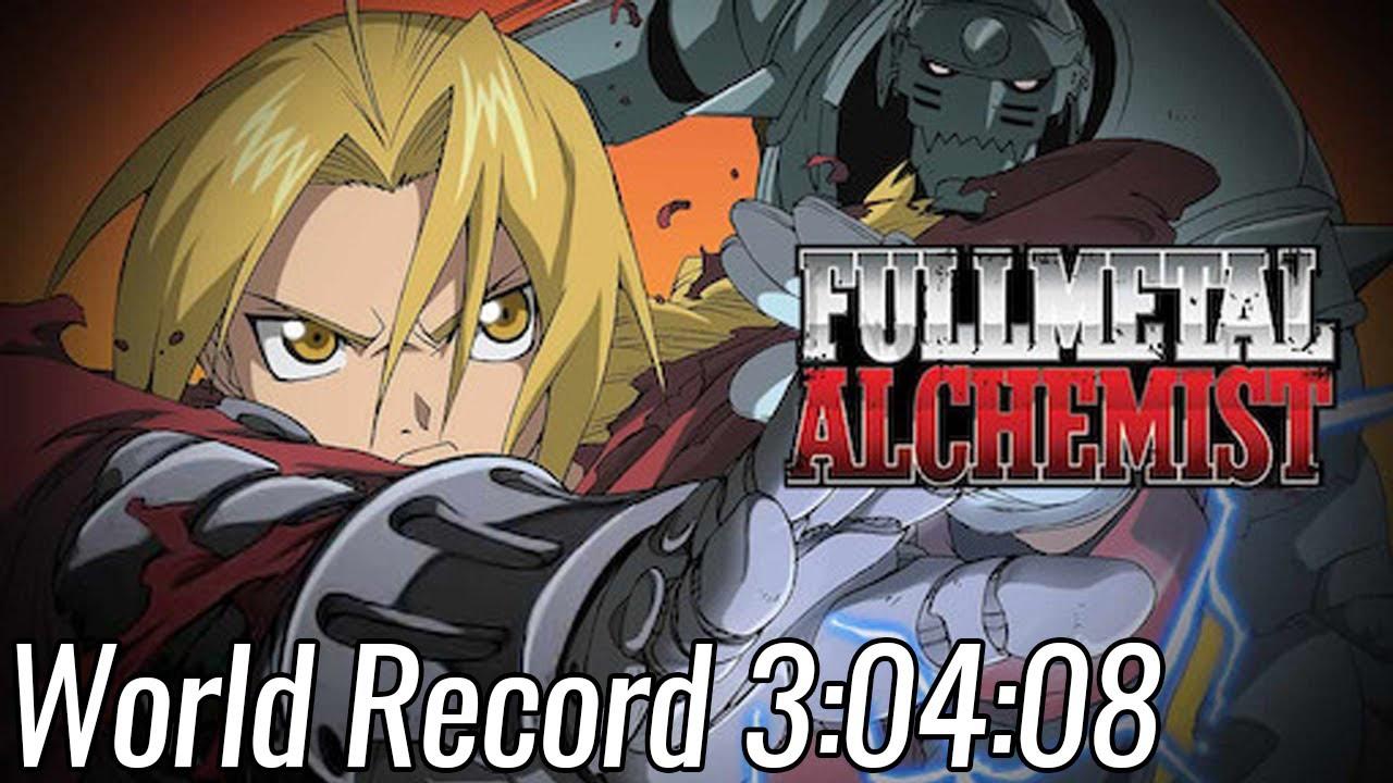 【WR】Fullmetal Alchemist 3: The Girl Who Succeeds God Speedrun in 3:04:08   World Record