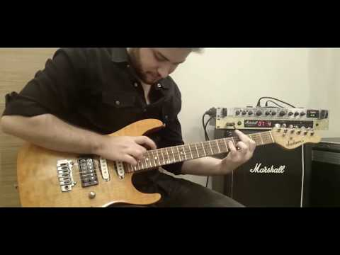 Europe - Rock the Night Guitar Solo Cover