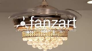 Rolex Gold - Crystal Designer Fan - Fanzart
