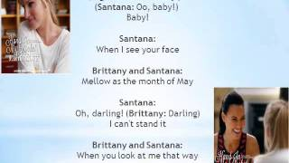 Glee Hand in my pocket/ I feel the earth move Lyrics