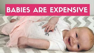 Will Our Baby Cost $1,000 A Month? | Budgeting For Baby Expenses