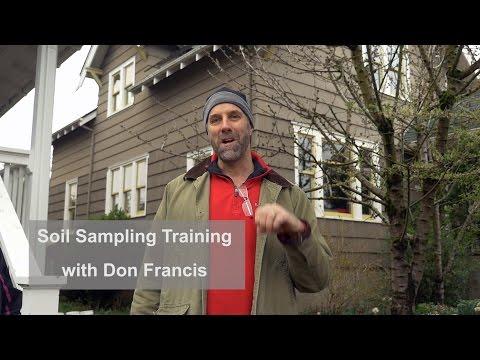 A Soil Sampling Training Class