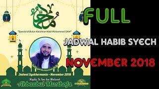 Jadwal Habib Syech Bulan November 2018 | Terbaru & Terlengkap !!!