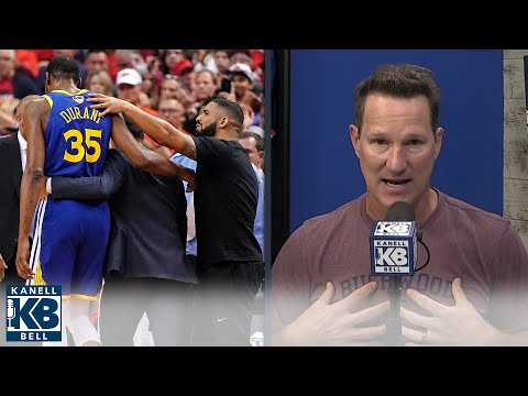 Kevin Durant Doesn't Blame The Warriors For His Achilles Injury   Kanell & Bell