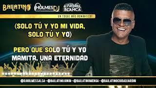 SOLO TU Y YO / RAY DE LA PAZ / Video Liryc letra / Holmes DJ