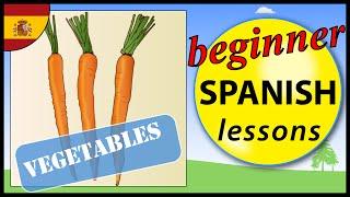 Vegetables In Spanish | Beginner Spanish Lessons For Children