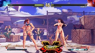 Street Fighter V AE Laura vs Chun Li PC Mod