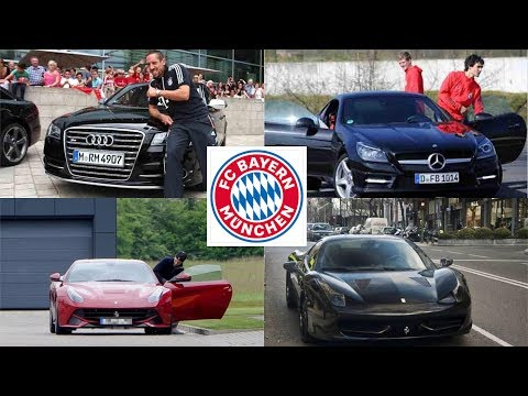 Bayern munich players car collection (2018)