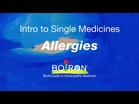 Boiron Single Medicines for Allergies