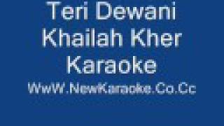Teri Deewani Karaoke
