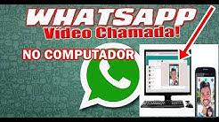 Chamada de vídeo no whatsapp do computador