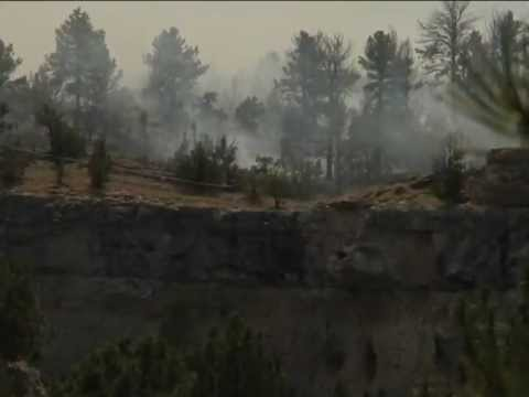 Guernsey State Park Fire