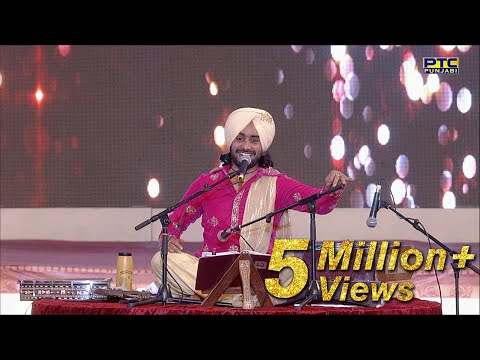 SATINDER SARTAAJ Performing  at PTC Punjabi Music Awards 2016  PTC Punjabi