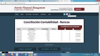 Macros Excel – VBA 41.- Conciliación Bancaria por Importe