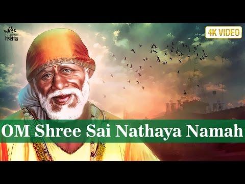 Sai Baba Mantra - OM Shree Sai Nathaya Namah Meditation by Brahmins | Hindi Bhakti Songs