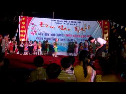 Trình diễn thời trang trường tiểu học Tân Xuân B - Đồng Xoài - Bình Phước