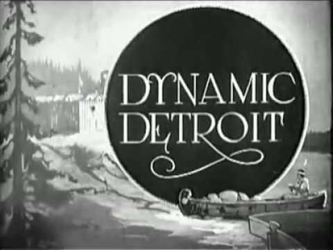 DETROIT: 1920's-1970's