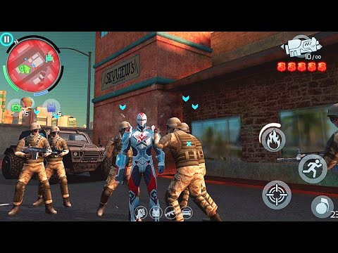 GANGSTAR VEGAS - MOST WANTED MAN #95 - CAPTAIN AMERICA | LEGION