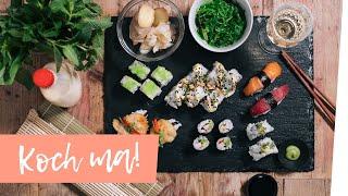 sushi selber machen der sushi meister zeigt wies geht. Black Bedroom Furniture Sets. Home Design Ideas