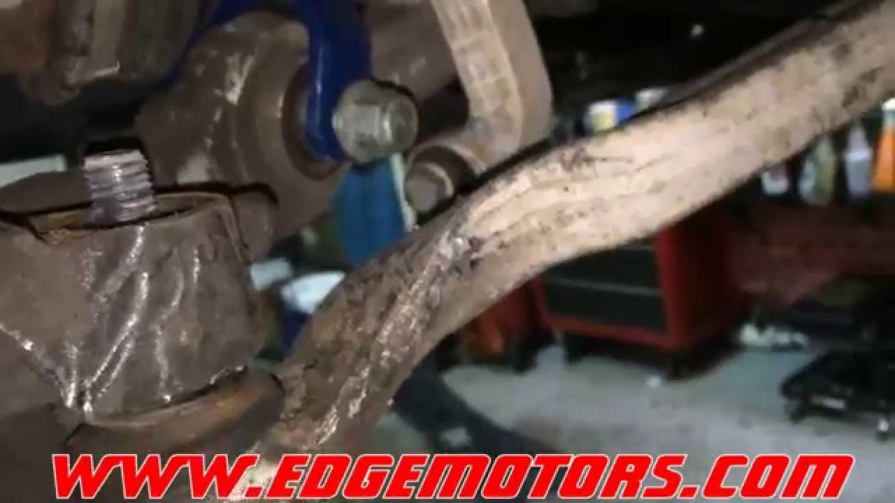 B5 vw passat audi a4 c5 audi a6 front strut replacement diy by edge motors youtube