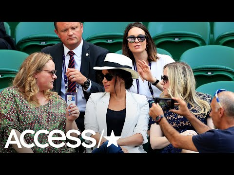 Tennis Fan Scolded For Photo Of Meghan Markle Just Appeared To Be Taking Selfie