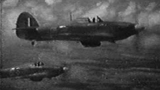WW2 film of Hawker Hurricanes in SE Asia