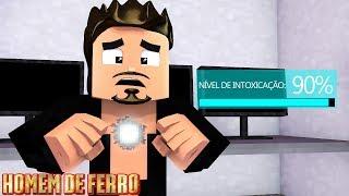 Homem de Ferro: Estou morrendo e meu reator Arc está com defeito! #17 - Minecraft