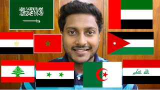 vuclip Indian speaking Arabic in 10 different accents part 2 - هندي يتكلم عربي في ١٠ لهجات مختلفة