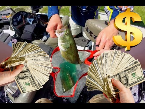 Fishing For $4,000 Dollars!!!