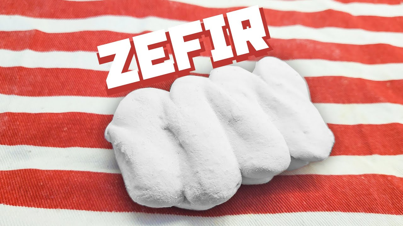 Making zefir by hand (ЗЕФИР) - cooking with Boris